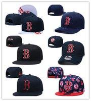 En Kaliteli Moda Fan'ın Boston Visor Göğüslü Caps Erkek Spor Tüm Takım Mektubu Düz Tepe Tasarım Snapback Şapkalar Chapeau Beyzbol Ayarlanabilir Bones HHH
