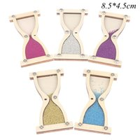Other Clocks & Accessories Wooden Hourglass Toy Baby Busy Board Busyboard Toddler Early Childhood Education Puzzle Enlightenment Seat Gift P