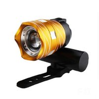 Bicycle Headlamp Bike Head Light USB Rechargeable Zoomable 350lm Cycling Front Lights