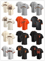 Custom Jersey Mens Women YouthSanFrancisco.Gigantesseu número de nome autêntico jerseys de beisebol branco laranja preto stitc