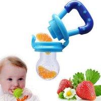 Baby-Lebensmittel Nippel-Feeder-Schnuller-Frucht-Gemüse-Fütterung Lieferungen Silikon-Schnuller Nippel Weiche Fütterungs-Werkzeug-Schnuller Silikon-Kind 475 Y2