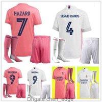 남자 키트 20 21 레알 마드리드 저지 위험 Sergio Ramos 벤제 축구 Camiseta de Futbol 20 21 Vinicius JR 성인 축구 셔츠 유니폼