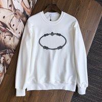 2021 Herren- und Frauen Hohe Qualität langarm Rundhals-bestickter Pullover Pullover Damen Designer Kleidung Liebhaber Sweatshirt