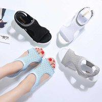 باتين النساء الصنادل 2020 جديد أنثى حذاء امرأة الصيف إسفين الصنادل مريحة السيدات الانزلاق على الصنادل المسطحة النساء sandalias cx200616