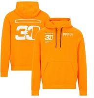 Racing men's hoodie, the same customized sportswear, F1 team overalls 2021