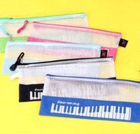 Cute Pencil Bag Pen Holder Home Sundries Pouch Bag Musical Piano Keyboard Pencil Case School Stationery New