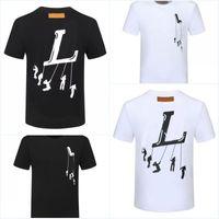 Mens Designer Camisetas Homens T-Shirt Mulheres Roupa Verão Vista Casual Grupo Modal Manga Curta De Alta Qualidade Camisa de Forma Para Tamanho Masculino S-3XL