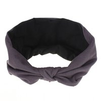 Frau Baumwolle Stirnband Knoten Sport Haarband Mode Haarschmuck Für Damen Elastische Accessorios Para El Cabello 771 Q2