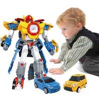 Transformer Transformer Игрушка Мальчик Аниме Действие Рисунок Пластик ABS Робот Автомобиль Прохладный Динозавр Танк Модель Самолет Модель Детская Детская Игрушка 210425