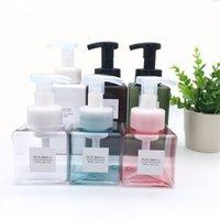 250ml espuma vazia espuma garrafa de mão sabão espumante espumante viagens quadrado maquiagem shampoo recipientes garrafa rrd6815