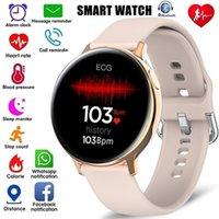 S20 Smart Watch Men Women ECG Full Touch Screen IP68 Waterproof Heart Rate Blood Pressure Smartwatch for Android iOS