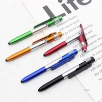Pervoint Pens 36pcs متعدد الوظائف الهاتف المحمول قوس led للطي ضوء القلم الإعلان مخصص شاشة بالسعة لمدة أربعة في واحد