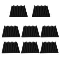 Golf Training Aids 8 Pcs Acoustic Foam Panel, Soundproof Mat, Board,Studio Foam, Sound Wedge