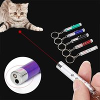 Cat Toys Led Portable Creative Funny Laser Pointer Pet Kitten Training Toy Light Pen With Bright Animation Mouse Shadow Accessories