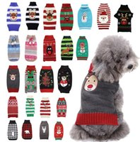 Dog Apparel Christmas Winter pet sweater fawn holiday costume cat corky gold wool clothes