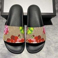 Yüksek Kaliteli Erkek Kadın Yaz Kauçuk Sandalet Plaj Slayt Moda Scuffs Terlik Kapalı Ayakkabı Boyutu EUR 35-45 ile Kutusu 28