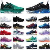 Nike air max tn plus Große Größen TN Plus-Männer Frauen Laufschuhe Chaussures Triple-Weiß Schwarz Gold Traube Hyper Blau Orange Mens Turnschuhe Sport Läufer 36-47
