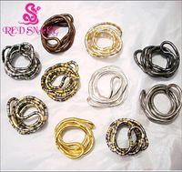 Consíguelo ! Collar flexible flexible flexible de moda flexible de acero inoxidable de alta calidad más grande en cadenas multi de color