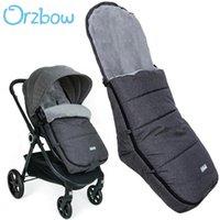 Diseñador Lujo Cochecito de lujo Orzbow Incual L Forma Bebé Durmiente Bolsos Sobre Born Sobre Infantil Niños Pram Bunting FootMuff Kids