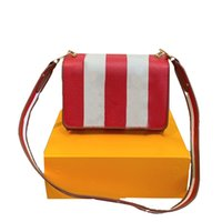 2021ins autumn Women Striped Shoulder Bags Classic Messenger bag Totes Clutch Purse Fashion crossbody Handbags Multifunction pochette Leather coins card Wallets