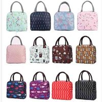 Oxford Lunch Bag Fashion Portable Insulated Thermal Food Picnic Lunch Bags for Women kids Men Cooler Lunch Box Bag Tote Gifts