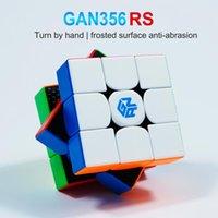 GANS 큐브 GAN356R S 3x3x3 매직 스피드 큐브 전문 스티커리스 GAN 356 RS 3x3 큐브 퍼즐 Cubo Magico Gan 356 R S
