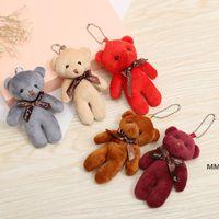 Valentine's Day Bear Doll Teddy Small Bag Pendant Bouquet Decoration Plush Toy HWF7204