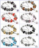 Charm JewelryCharm 925 Sier Braccialetti per le donne Royal Crown Braccialetto Purple Crystal Branks FAI DA TE Jewelry Drop Consegna 2021 T3VFL