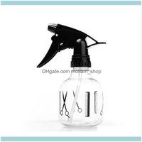 Storage Housekeeping Organization Home Gardenstorage Bottles & Jars 8Oz 250Ml Clear Plastic Spray Bottle With Trigger Mist Sprayer Hair Salo