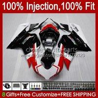 Injectieballen voor Ducati 848 1098 1198 S R 848R 1198R Carrosserie 18NO.0 848S 1098S 2007 2008 2009 2010 2011 2012 1098R 1198S 07 08 09 10 11 12 OEM BODY KIT FACTORY Red
