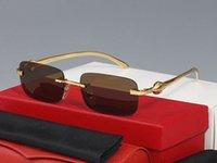النظارات الشمسية الأحمر للنساء أحدث الأزياء cateye انعكاس النظارات الذكور الإناث نصف الإطار الرجال النظارات الزرقاء الأسود إطارات الذهب اللحم