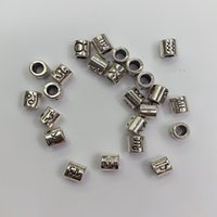 Antik Gümüş Kaplama Oniki Takımyıldızlar 4mm Metal Boncuk DIY İşi Büyük Bilezik Kolye Takı Aksesuarları