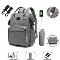 Fashion Mummy Maternity Diaper Bag Large Nursing Travel Backpack Designer Stroller Baby Care Nappy 210907
