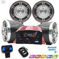 Moto Bluetooth Audio Car Veicolo ATV Amplificatore impermeabile ad alta potenza Amplificatore antifurto Amplificatore a quattro canali MP3 Player Telefono cellulare collegato alla radio