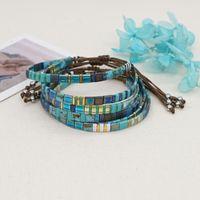 Charm Bracelets Go2Boho 2021 Boho Tila Beads Bracelet Women Friend Gift Adjustable Rope Beaded Jewelry Glass Pulsera Miyuki Accessories