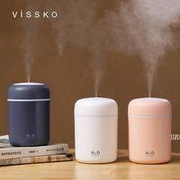 Essential Oils Diffusers Creative colorful cup air white humidifier table home car USB custom logo size 119*78*78mm AHA5547
