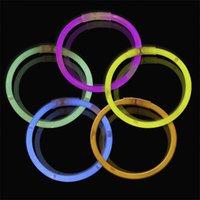 Multi Color Hot Glow Stick Armband Halsketten Neon Party LED Blinkendes Licht Stick Zauberstab Neuheit Spielzeug LED Vokalkonzert LED Flash Sticks 349 Y2