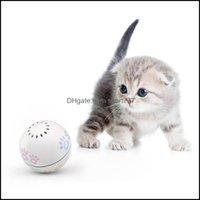 Toys Supplies Home & Gardenpetoneer Companion Ball Smart Pet Toy Gesture Shake Switch Built-In Catnip Box Irregar Scrolling Funny Cat Artifa