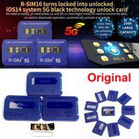 RSIM16 RSIM 16 unlock card R-Sim 16 turns locked into unlocked iOS14 system 5G unlocking for iPhone12 PRO MAX 11PRO 11 X XS 8 Plus 7 6