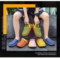 Summer Nle New Children Shoes Slippers Beach Hole Sandals son la buena opción para los parques infantiles al aire libre