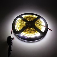Светодиодная полоса с гнездом постоянного тока DC12V 300LED 60 светодиодов / м гибкий светлый белый белый, белый, синий, зеленый, красный, желтый домашний декор