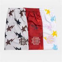 Мода EE Brand Eric Emanuel Базовые короткие мужские фитнес-шорты сетки дышащие пляжные спортивные брюки серии летний тренажерный зал.