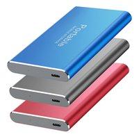 SSD HDD 2.5 8TB 외부 솔리드 스테이트 드라이브 4TB 저장 장치 하드 컴퓨터 휴대용 USB3.0 모바일 합금