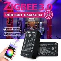 스마트 홈 컨트롤 GLEDOPTO ZIGBEE 3.0 RGBCCT LED 스트립 컨트롤러 PRO APP VOOUCE ALEXA ECHO PLUS SmartThings RF RF RF RF