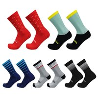 New Cycling Socks Wear-resistant Compression Outdoor Racing Socks Men Women Road Running Sports Socks Calcetines Ciclismo