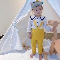 Hot 0-2Years Baby Boy Girl Stocking Elastic Waist Solid Color Ankle Length Overalls Suspender Legging Pantyhose INS PP Pant