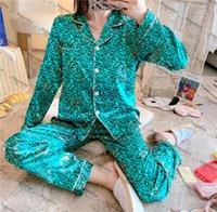 Fashion Hipster Pajama Set Top Quality Women's Designer Sleepwear Indoor Casual Bath Good Dream Luxury Underwear