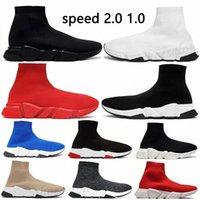 2021 رجل جورب سرعة المدرب 1 2.0 عارضة الأحذية منصة إمرأة أحذية رياضية وسادة الثلاثي أسود أبيض كلاسيكي 2015 في الدانتيل الركض walkiny3p6 #