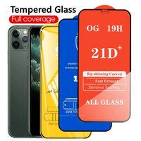 9D 10D 21D Full Cover Tempered Glass for IPhone 13 12 11 Pro Max 6S 7 8 Plus Screen Protectors X XR XS SE2020