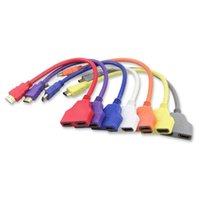 Аудио кабели разъемы Centechia Продажа кабеля Splitter 1 мужчина до двух женских y y адаптер HD LED LCD TV 30см